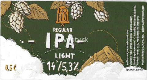 Nobell -Regular IPA 14°